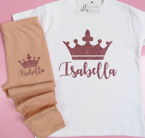 Personalised Crown T-Shirt