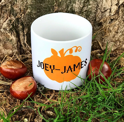 Personalised Pumpkin Mug