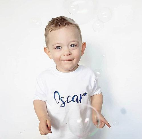 Personalised Star T-Shirt