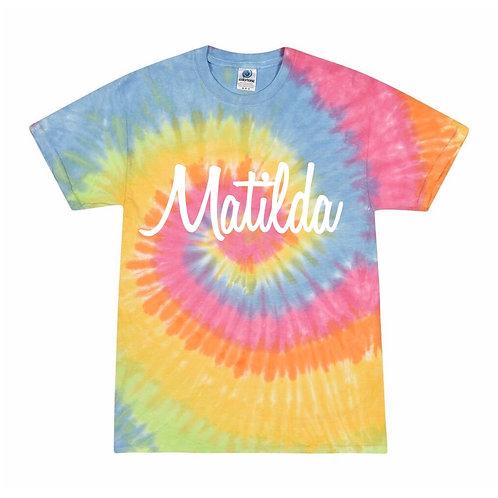 Personalised Tie Dye T-Shirt