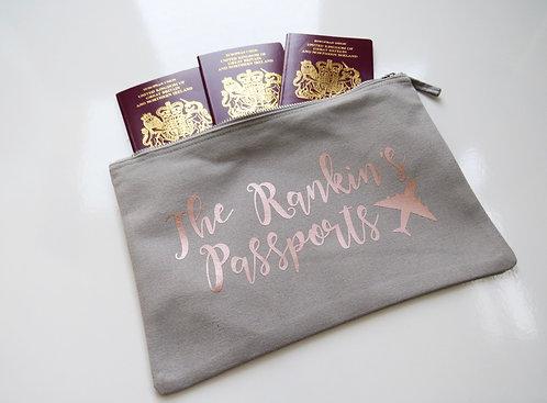 Personalised Passport Case