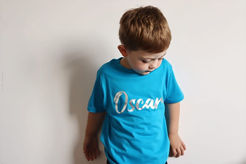 Personalised Coloured T-Shirt