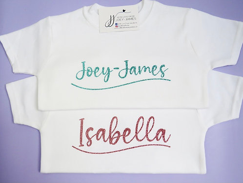 Personalised Wave T-Shirt