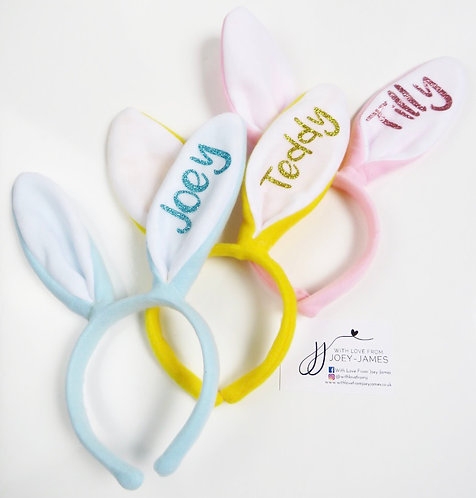 Personalised Bunny Ears