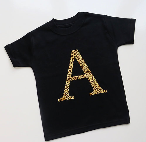 Personalised Initial T-Shirt