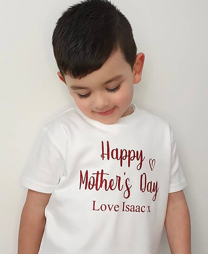 Personalised Mother's Day T-Shirt