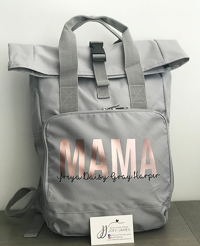Personalised Mama Backpack