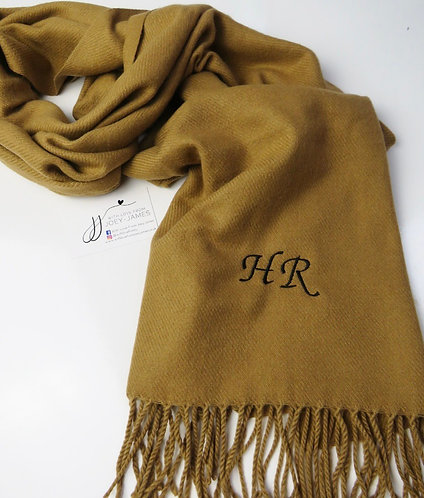 Personalised Biscuit Scarf