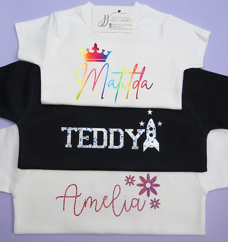 Personalised Icon T-Shirt