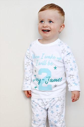 Personalised Star Pyjamas