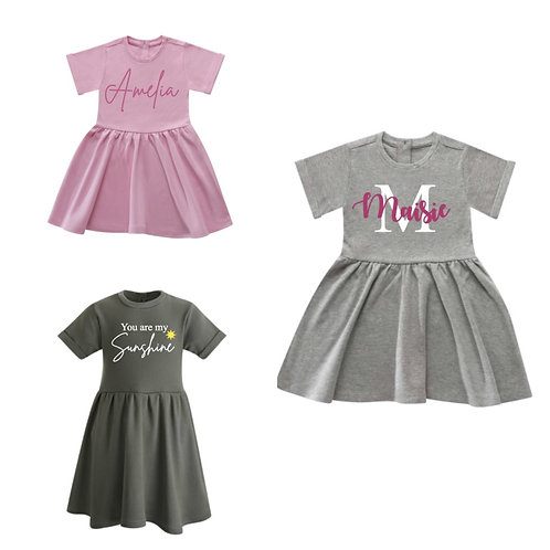 Personalised Cotton Dress