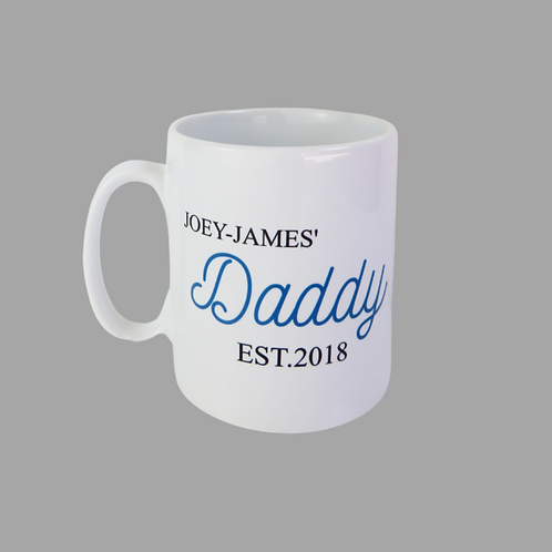 Personalised Daddy Mug