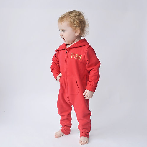 Embroidered Initial Onesie