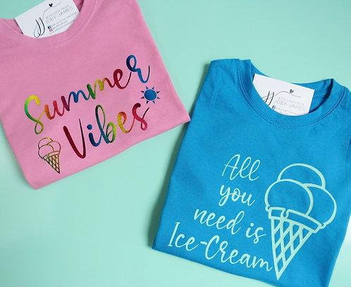 Summer Slogan T-Shirt