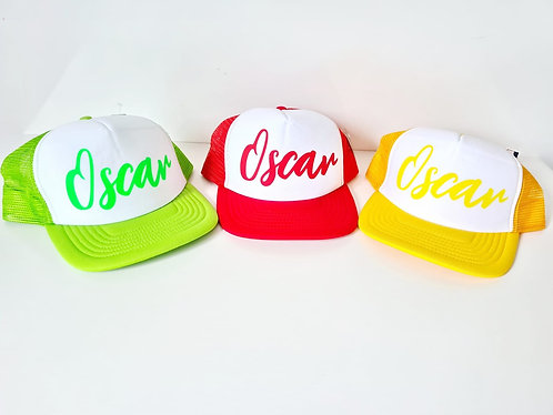 Personalised Summer Snapback