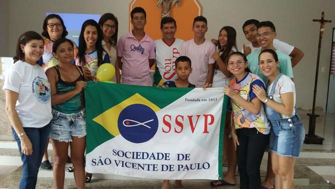 Bata-papo vicentino com os jovens de Mossoró (RN)