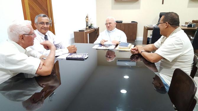Visita ao Arcebispo de Natal, Dom Jaime Vieira Rocha