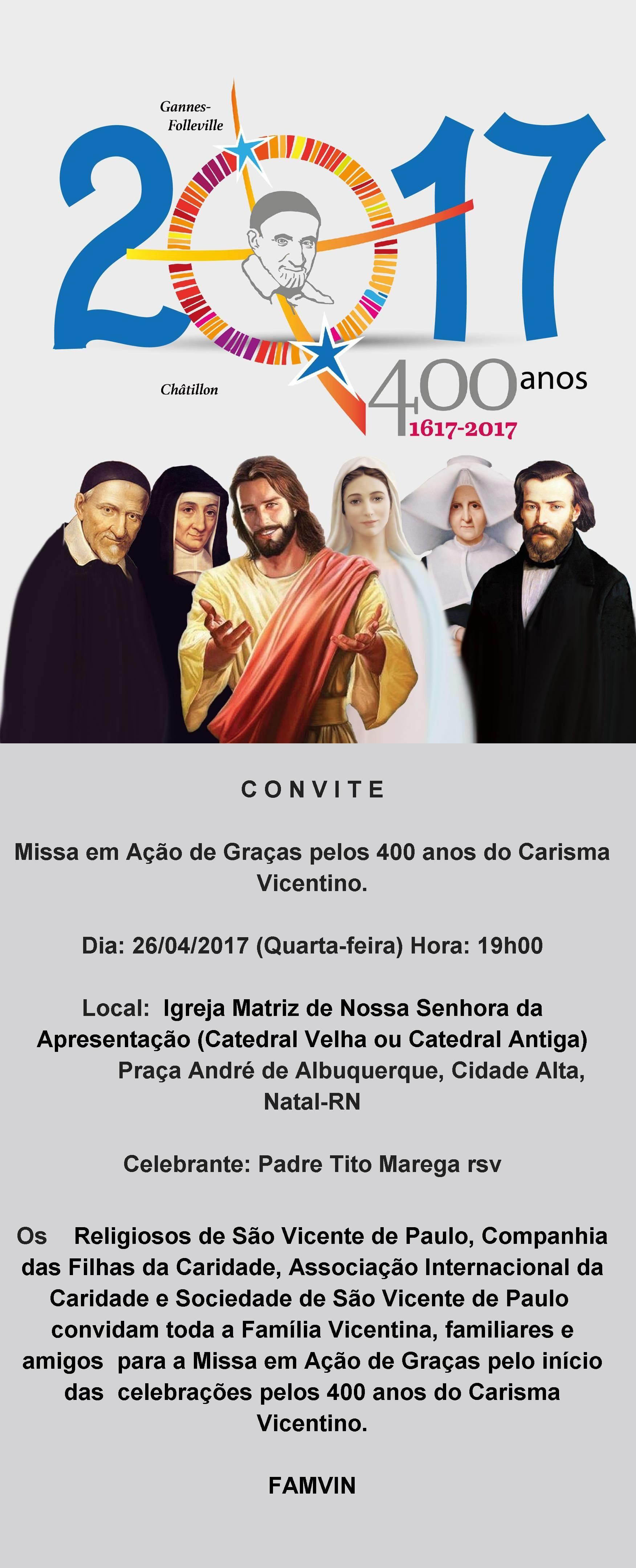 Convite Famvin - CCN