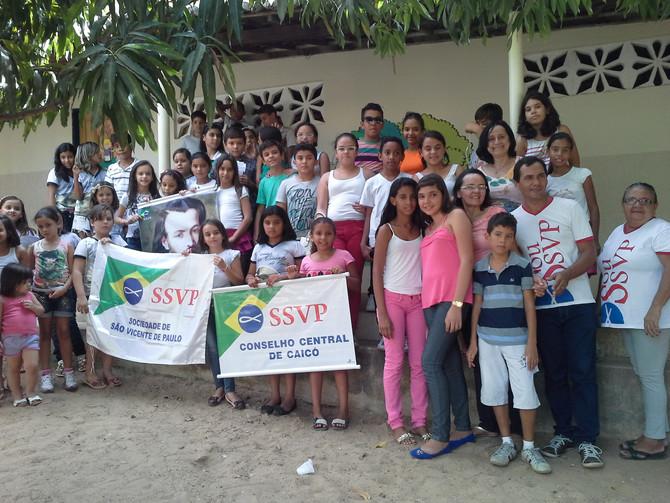 Encontro das Conferências de Crianças e Adolescentes, em Jucurutu