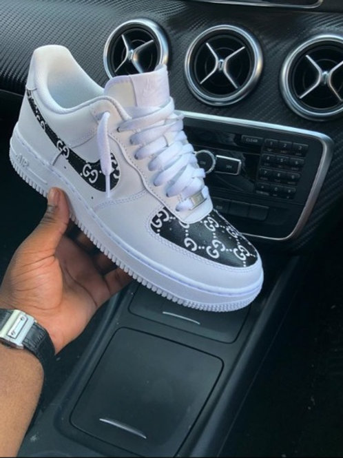 Air Force 1 Low | Gucci print | White