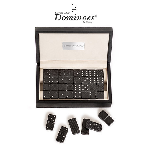 Carbon Fiber Dominoes Set