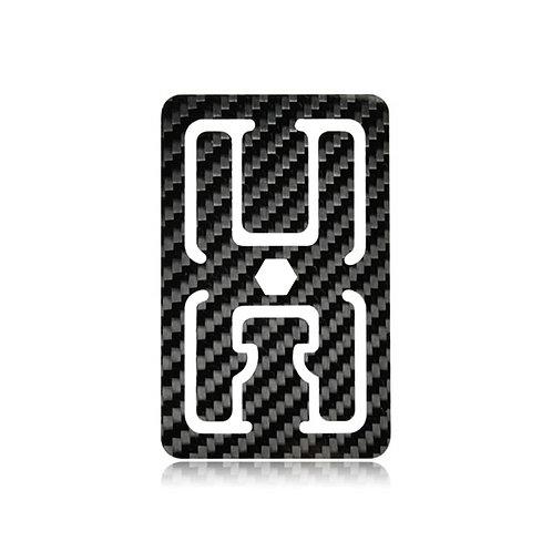 2D Carbon Fiber Flat Wallet
