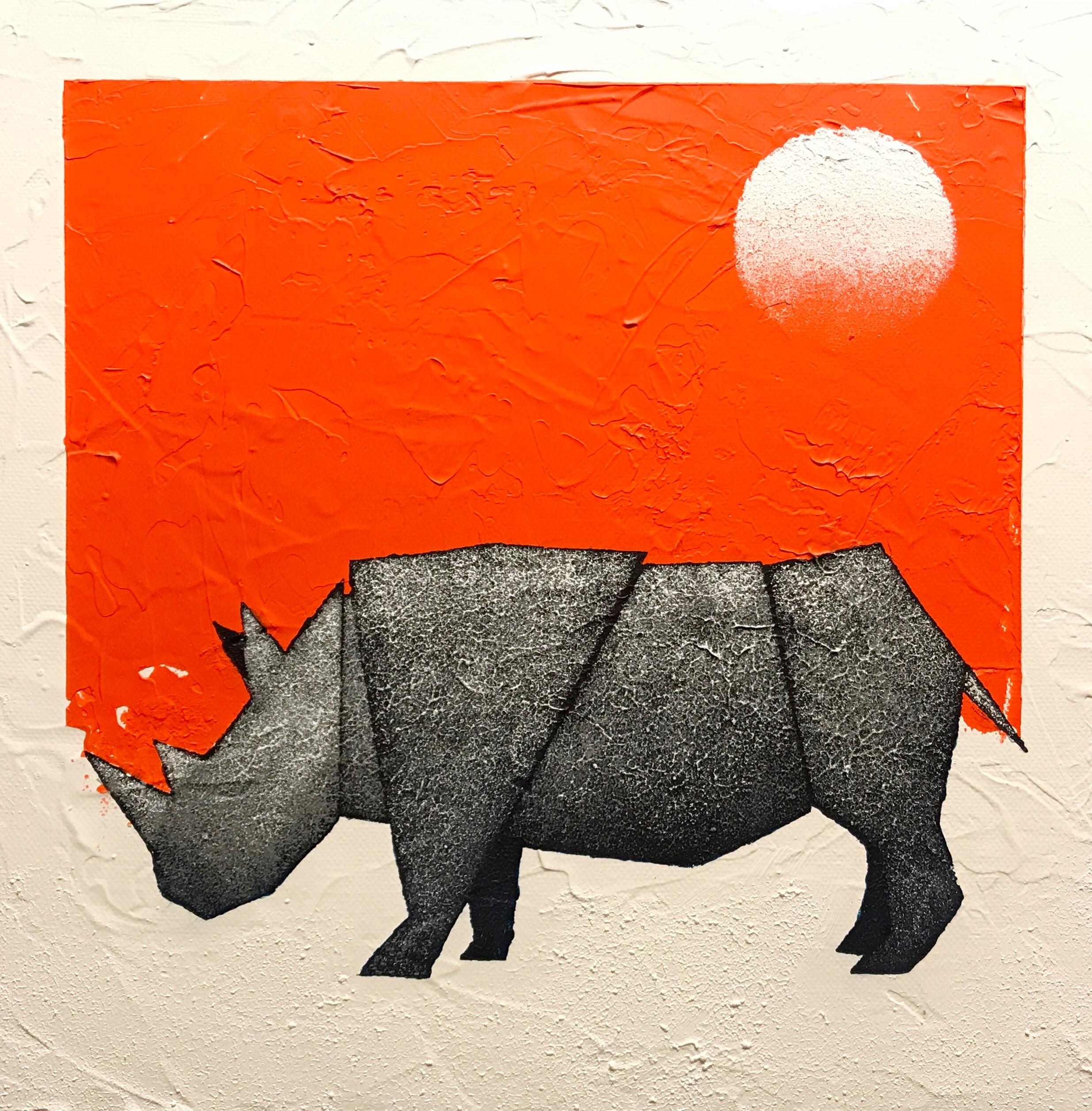 Rhino (Orange)