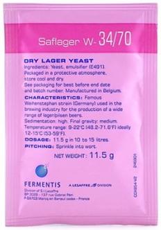 Levedura SAFLAGER W-34/70