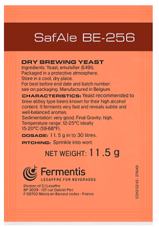 Levedura BE - 256 Fermentis