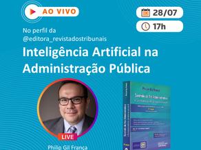 """Live: """"Inteligência Artificial na Administração Pública"""""""