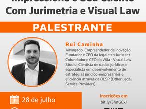 """Webinar: """"Impressione o Seu Cliente Com Jurimetria e Visual Law"""""""