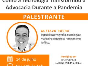 Webinar: Como a Tecnologia Transformou a Advocacia Durante a Pandemia
