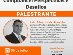 """Webinar: """"Compliance: Perspectivas e Desafios"""""""