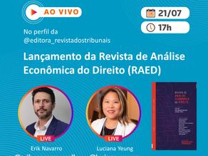 """Live: """"Lançamento da Revista de Análise Econômica do Direito (RAED)"""""""