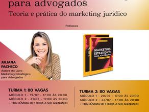 Curso de MARKETING ESTRATÉGICO PARA ADVOGADOS - Teoria e prática do marketing jurídico