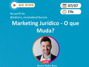 """Live: """"Marketing Jurídico - O que Muda?"""""""
