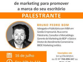 Webinar: Como fazer bom uso das ferramentas de marketing para promover a marca do seu escritório