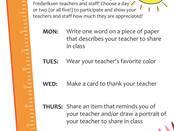 Teacher & Staff Appreciation Week, May 3rd-7th!