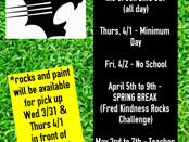 Spring Fred Events!