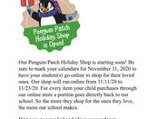 Holiday Shop is here! 11/11-11/23. Go to: https://shop.penguinpatch.com/ and search Frederiksen