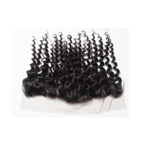 13x4 Deep Curly Frontal
