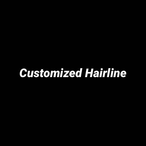 Customized Hairline