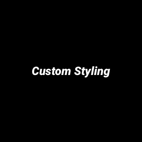 Custom styling