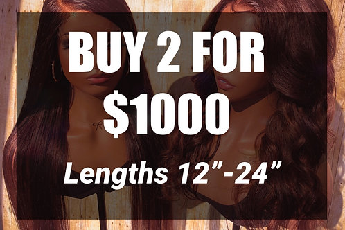 Buy 2 for $1000
