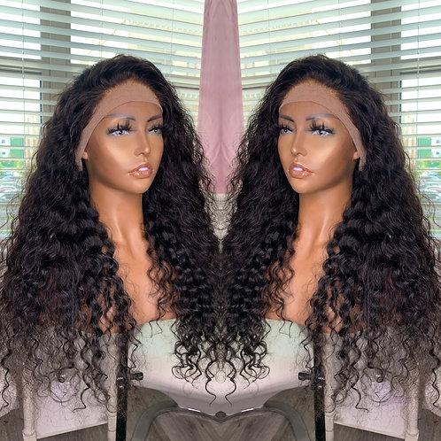 Front lace wig (deepwave)