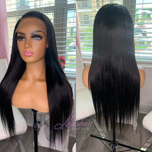 Front lace wig (straight)