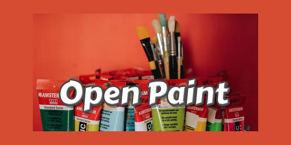Open Paint Night April
