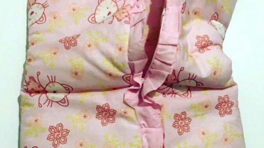 Porta bebê em algodão (saco de dormir)