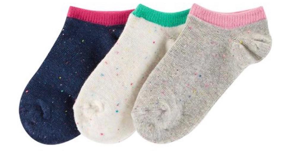 Kit 3 pares de meias Carter's