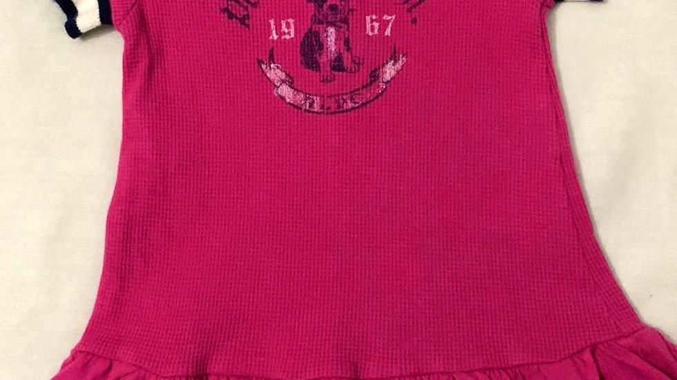 Vestido pink importado Ralph Lauren
